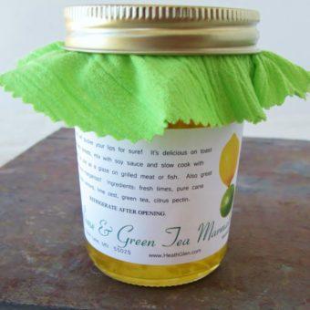 Lime & Green Tea Marmalade