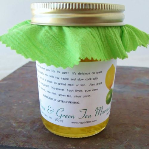 Lime & Green Tea Marmalade
