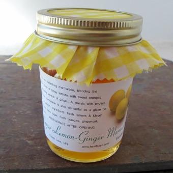 Meyer Lemon Ginger Marmalade