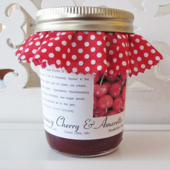 Montmorency Cherry & Amaretto Preserves