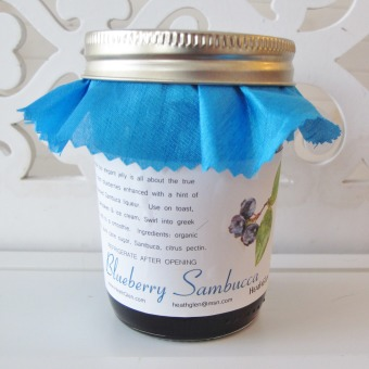 Blueberry Sambuca Jelly
