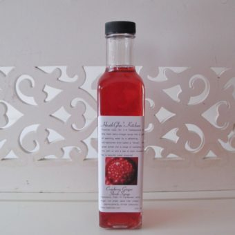 Cranberry Ginger Shrub Syrup