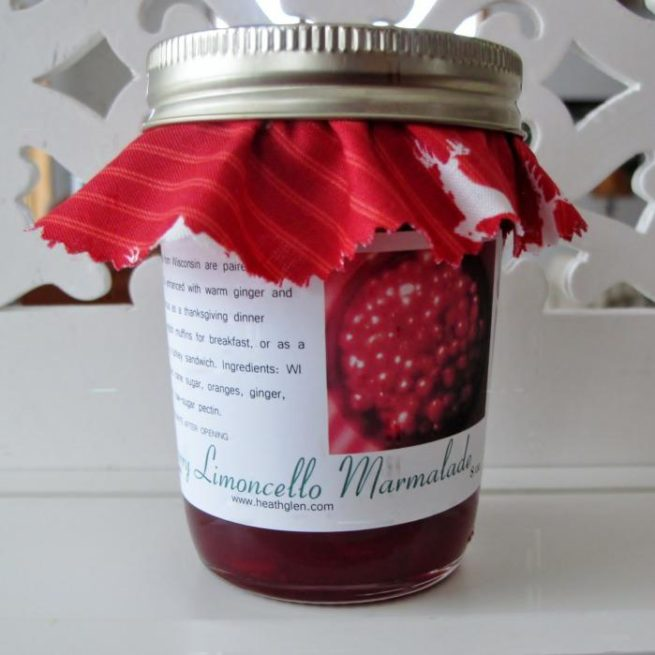 Cranberry Limoncello Marmalade