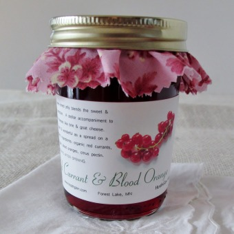 Red Currant & Blood Orange Preserves