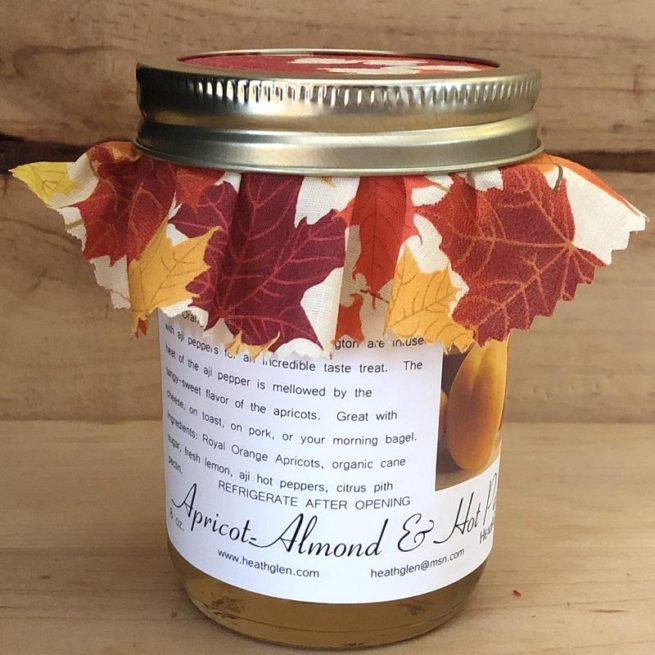 Apricot Hot Pepper Jelly
