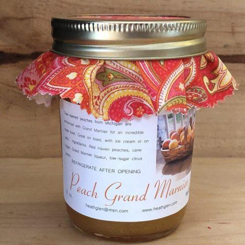 Peach Grand Marnier Jam