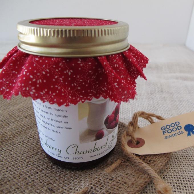 Raspberry Chambord Jam
