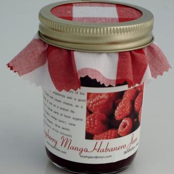 Raspberry Mango Habanero Jam