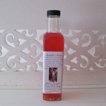 Rhubarb Fennel & Orange Shrub Syrup