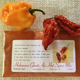 Ultimate Hot Pepper Spice Blend