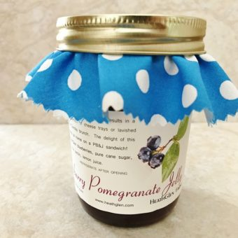 Blueberry Pomegranate Jelly
