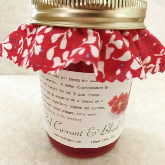 Red Currant & Blood Orange Jelly