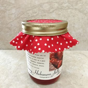 Raspberry Habanero Jelly