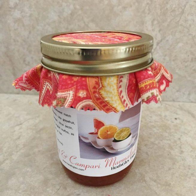 Grapefruit Campari Marmalade