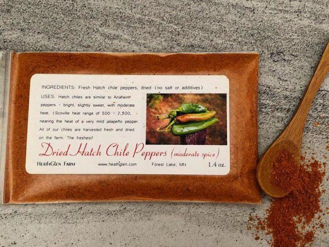 Hatch chile pepper spice